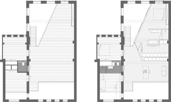 verdieping oud en nieuw