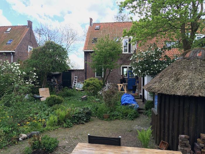 bestaande situatie - tuinzijde